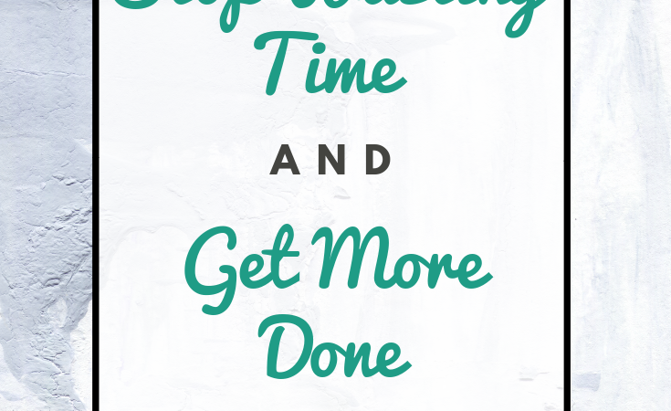 Looking back, I wasted a lot of time when building my small business. Don't make the same mistakes I did. Here are 7 steps to stop wasting time & get more done (increase productivity) in your creative business! #timemanagement #productivity #smallbusiness #etsyshop #smallbiz #creative