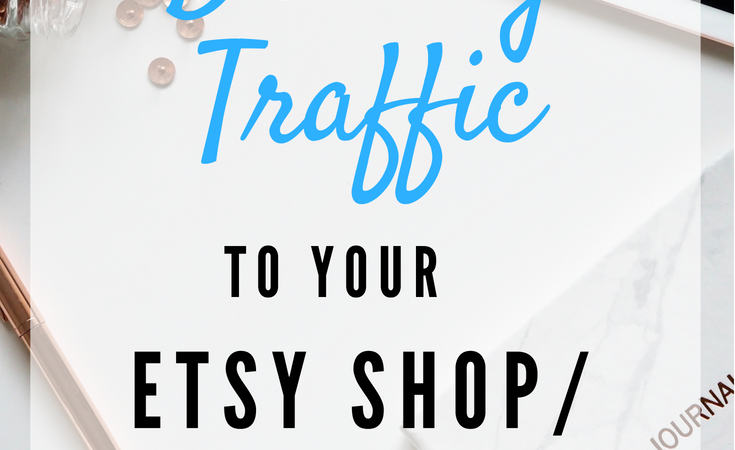 Want to know the secret to driving traffic to your Etsy shop or website? This strategy is the BEST way to increase website traffic and grow your creative business. Click to read my blog post on WHY all Etsy sellers and handmade creators need to implement this strategy, and how to get started! #onlinemarketing #etsyseller #etsyshop #creative