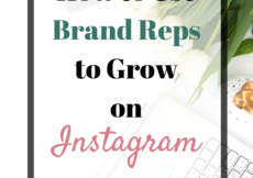 The best strategy I've found to grow my small business on Instagram? Brand reps, hands down. My followers doubled (almost tripled), and my traffic & sales massively increased. Click for tips & templates on how to use brand reps to get more engagement on Instagram for your Etsy shop/creative business! #socialmedia #socialmediatips #creatives #smallbusiness