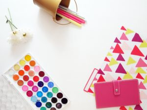 Creative business supplies paints and paper