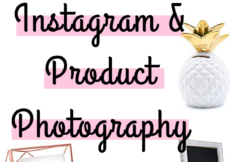Trying to figure out what to post on Instagram or how to photograph your products doesn't have to be hard! Here's some inspiration for unique and inexpensive props & backdrops to use for your Instagram and product photography.