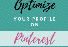 Want to know how to get found on Pinterest and make sales for your Etsy/online shop? Here are the 6 steps you should take to optimize your Pinterest profile and attract your ideal audience. #pinteresttips #smallbusiness #socialmedia #etsyshop #etsyseller