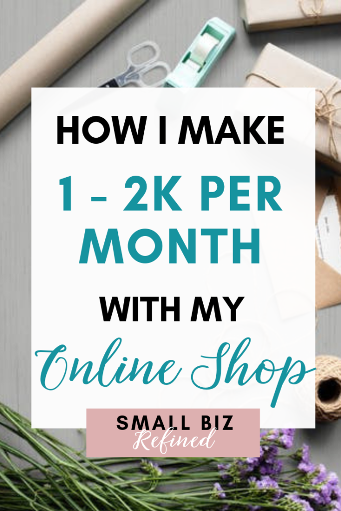 Click to read how I built a successful online shop (even while working full-time). And now that I'm self-employed, I've been able to make even more money with it. These are the best strategies I used to grow my online business and make money online. This includes social media tips, digital marketing strategies, and more. Side hustle ideas, how to start a business, online business ideas, and business income reports.