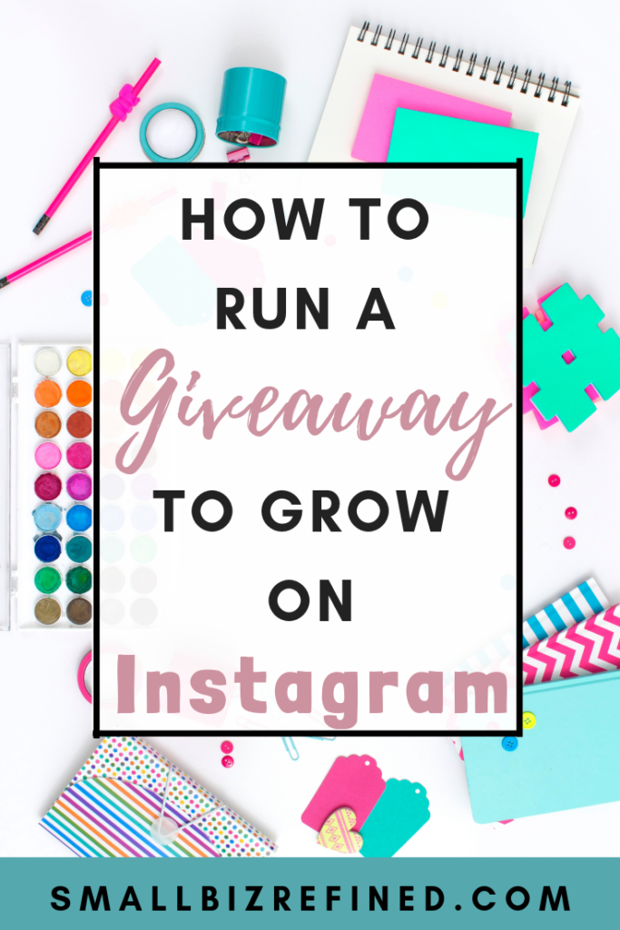 How to Run a Giveaway on Instagram for Rapid Growth - Small