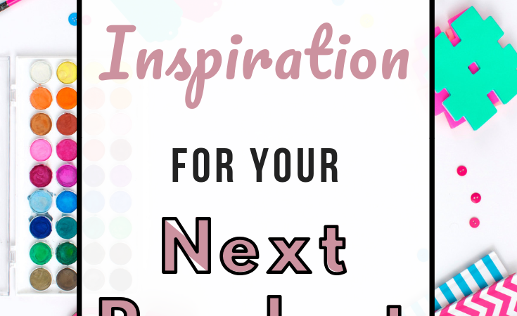 For those days when you're just not inspired, here's where to find inspiration for products to make for your Etsy or online shop. There are lots of ways to find product ideas! #etsyshop #etsyseller #smallbusiness #creativeentrepreneur