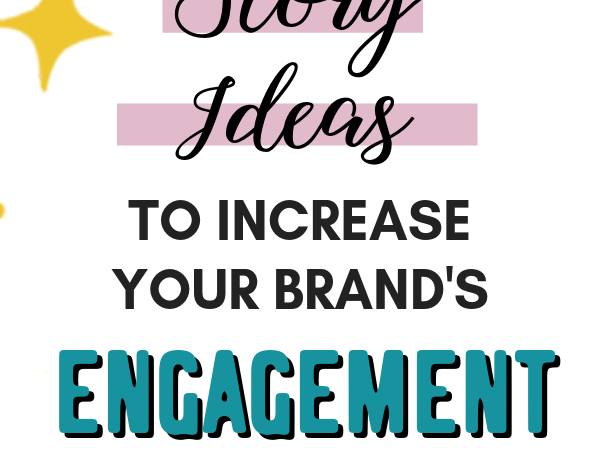 Looking for an easy way to increase your engagement rate on Instagram? Here's a list of 11 ideas for Instagram stories to increase your engagement rate. Instagram stories are a great way to encourage users to interact with you and your brand. #smallbusiness #smallbiz #instagramtips #instagramstories #socialmediatips