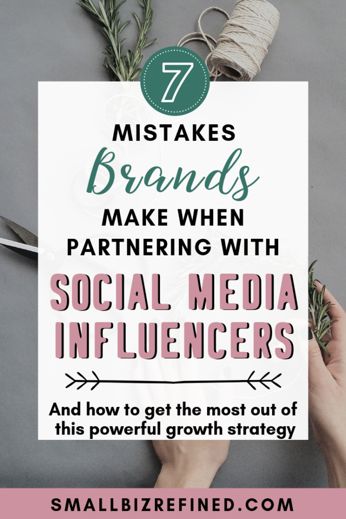 Influencer marketing on Instagram: Mistakes brands make when partnering with social media influencers or brand reps