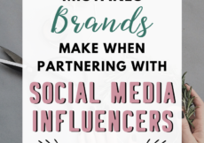 As a small business, partnering with social media influencers can expose you to large audiences (and bring in more traffic and sales). In fact, the brand rep strategy was extremely effective for growing my online shop. But before you start, here are 7 common mistakes brands make when partnering with influencers, so you can avoid them. That way, you can get the most out of this powerful strategy! #smallbusiness #smallbiz #socialmediatips #instagramtips #etsytips