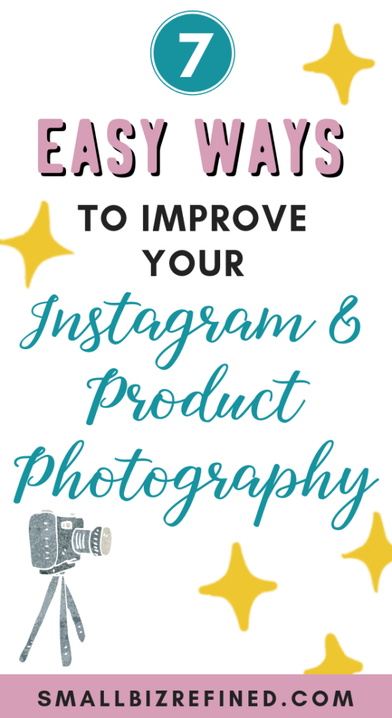 7 simple tips to improve product photography and take better social media photos