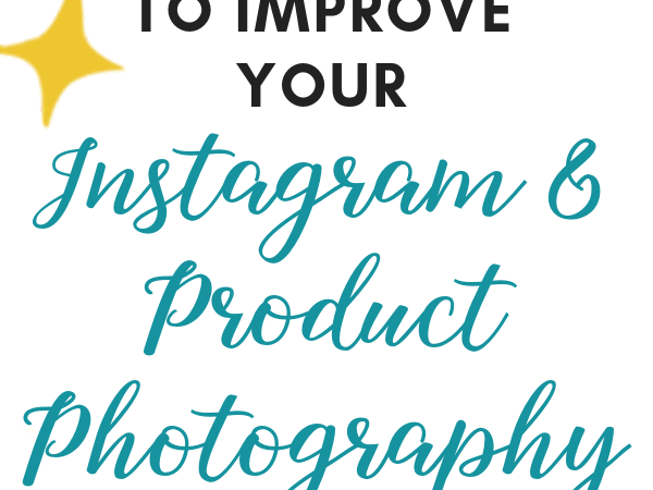 Quality product photography is essential for attracting potential customers. Click for 7 simple tips to improve your product photography (and social media images) on a budget, so you can get more customers and sell more products. These tips include how to get the best lighting for photos, how to set up a light box for cheap, and ideas for product photography styling! #productphotography #etsyshop #smallbusiness #smallbiz #photographytips #socialmediatips