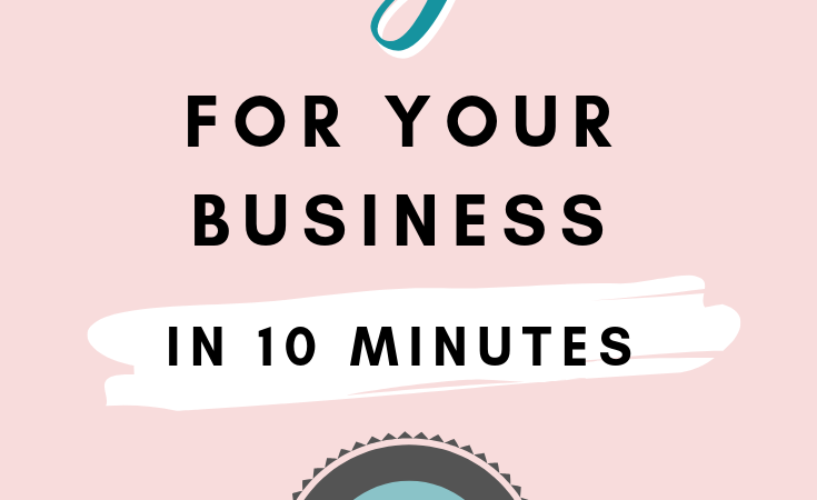 How to Make a Logo for Your Business in 10 Minutes