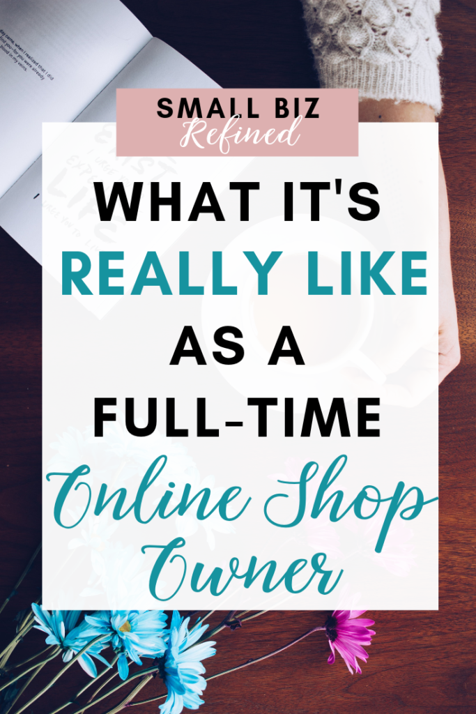 What it's like working from home full time as an entrepreneur and online shop owner