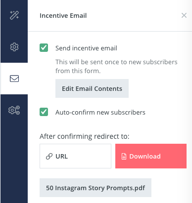 How to deliver an opt-in freebie to email list subscribers