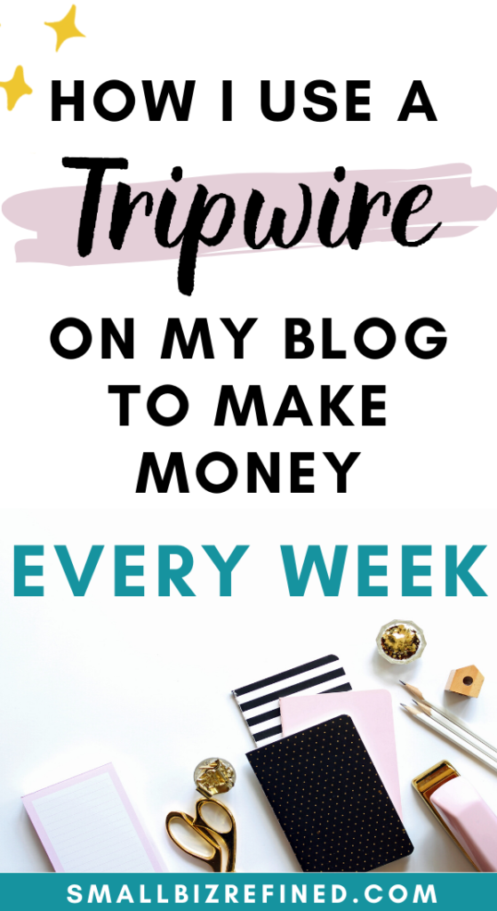 How I Make Passive Income Every Week on my Blog With a Tripwire