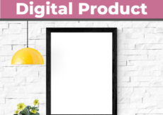 how to make a mockup for your digital product or printable