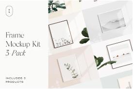 Creative Market Frame Mockup Kit
