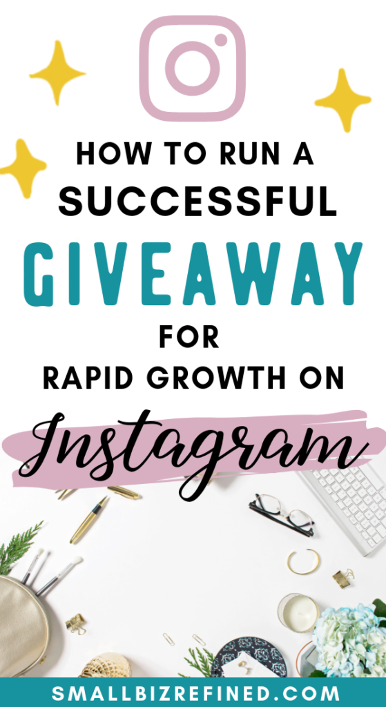 How to do an Instagram giveaway to grow your business